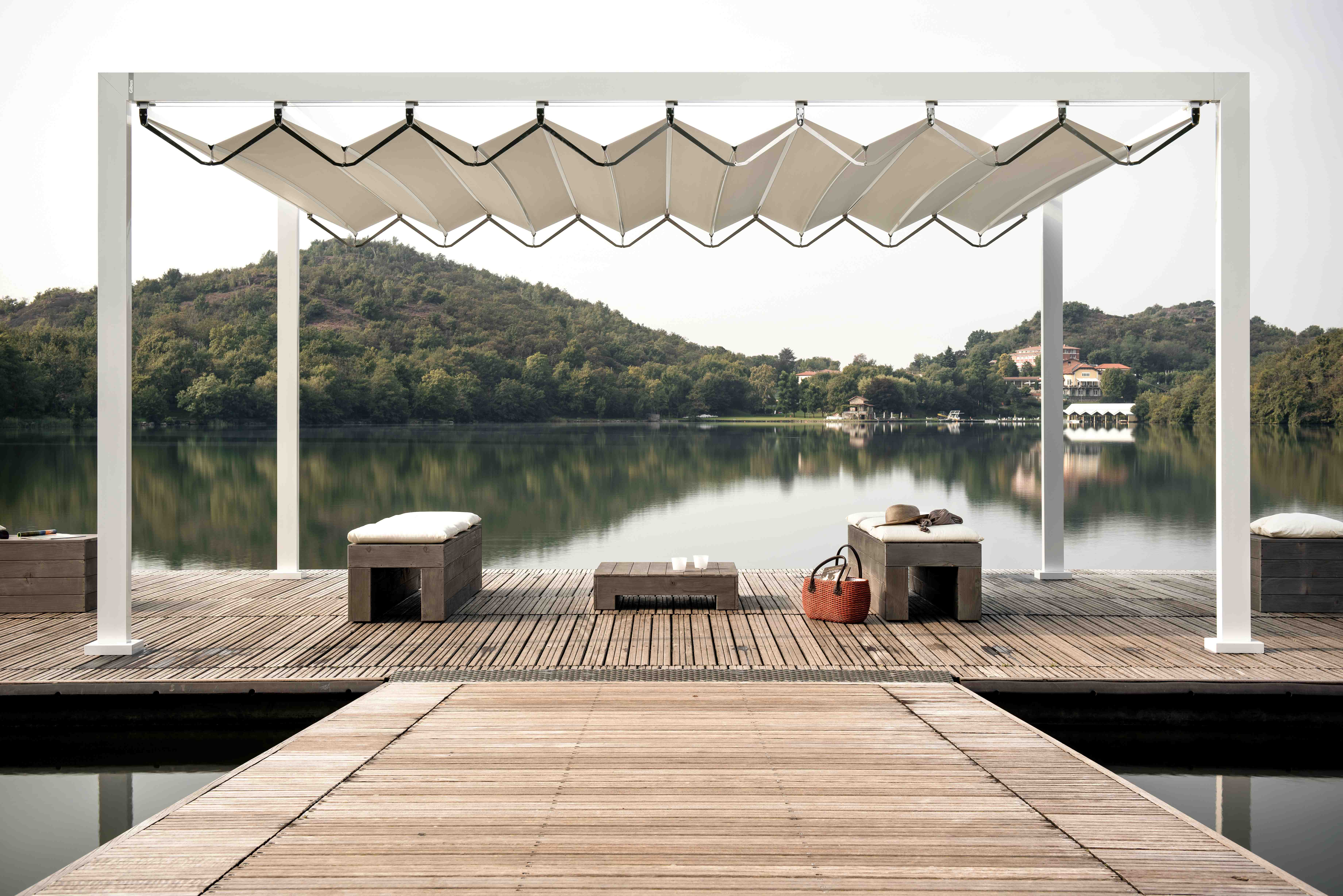 Med Open Fly Awning